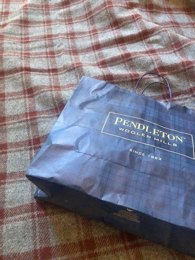 PENDELTONのブランケット